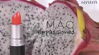 맥 임패션드 | 친구 선물 추천템 웜톤 핑크 립스틱  …