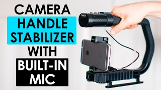 Camera Handle Stabilizer Review — Sevenoak MicRig Universal Video Grip Handle with Built-in Mic