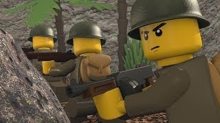 LEGO WAR IN THE PACIFIC 2(Animation by raptor5120; software - Blender 2.68; sound effects - Medal of Honor Pacific Assault., 2013-12-31T16:17:42.000Z)