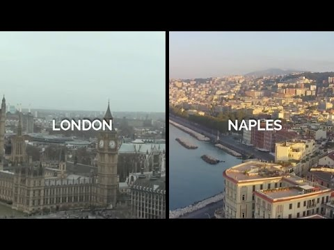 Which one do you prefer, London or Naples?