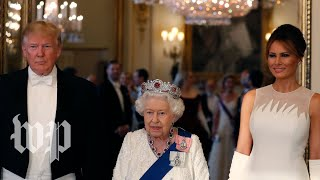 Watch Queen Elizabeth's full remarks at state dinner
