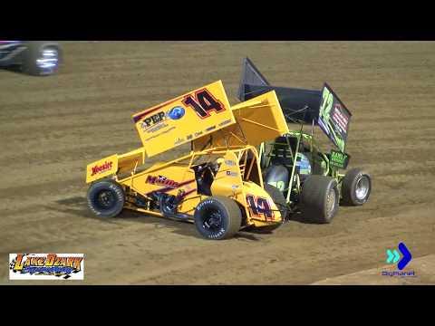360 sprints, Lake Ozark Speedway 6-30-18