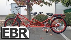 Pedego Tandem Cruiser Video Review - Tandem Electric Bike for Two Riders