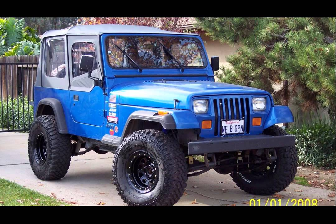 1993 jeep wrangler - YouTube