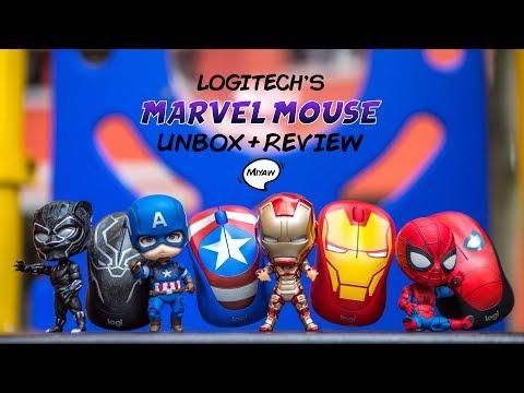Unboxing   Review: Logitech Marvel Avengers Mouse