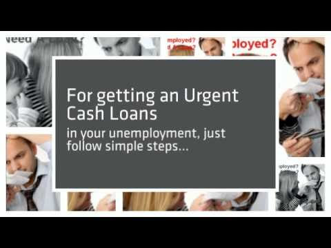 Urgent Cash Loans in 10 minutes for unemployed with No Credit check