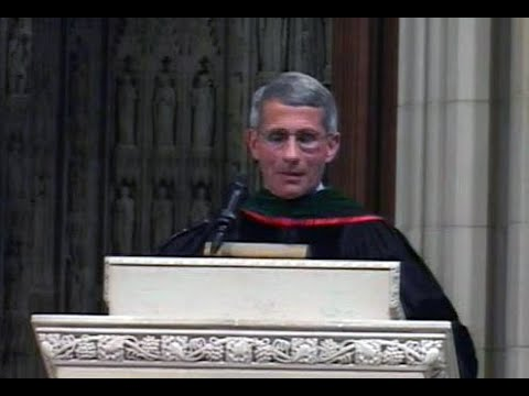 National Cathedral School Graduation, 2007, Dr. Anthony Fauci speech