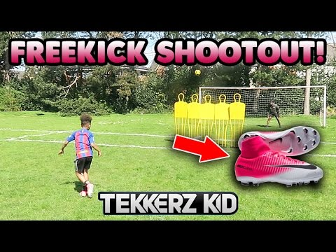 free kick shootout
