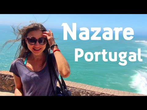 Nazaré Portugal  | A Fishing Village That Will Surprise You!