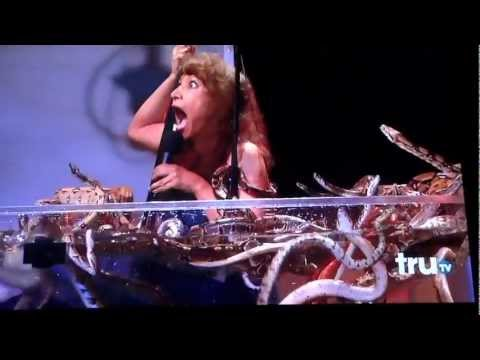 Killer Karaoke..STEVE-0... Sharon Wilson Dipped in Snakes
