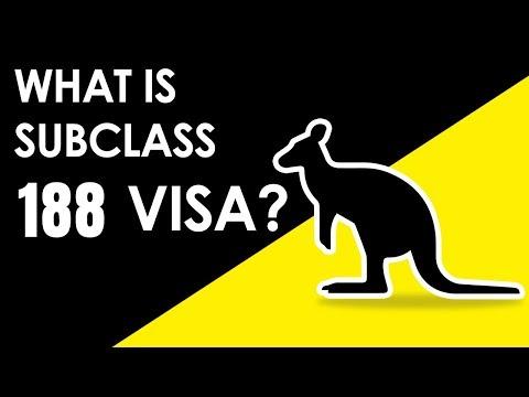 What Is Australian Innovation And Investor Subclass 188 Visa ?   Make Visas