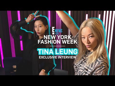 NYFW 2018 x TINA LEUNG   E! VIP   E! News Asia