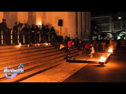 Fire Breathing At Earth Hour  March 26th 2011