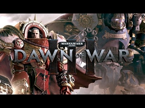 Dawn of War 3 - Space Marine Gameplay Unit Breakdown