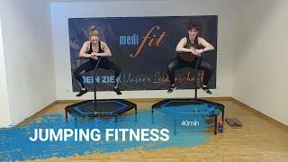 Jumping Fitness für zu Hause - 40 min - medifit Wolfhagen