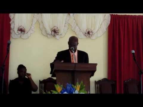 Bible Way Sda Church - Sermon by Elder Wendell Harris ( 2nd May 2015 )