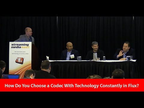How Do You Choose a Codec With Technology Always In Flux?
