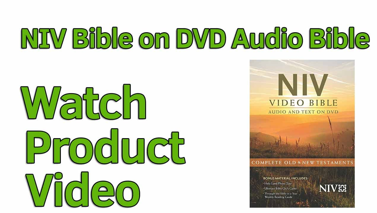 NIV Video Bible DVD, dramatized, Deluxe Edition