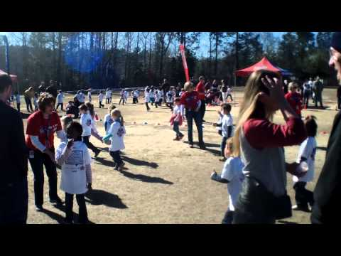 White Knoll Elementary School Boosterthon Fun Run 1.31.14 5k Class 2/2