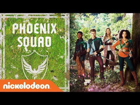 SQUAD GOALS: Meet Phoenix Squad 🛡️ w/ Daniella Perkins, Owen Joyner & More!   Knight Squad   Nick