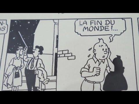 رسوم هزلية لتان تان ينتظر بيعها في مزاد في فرنسا بأكثر من 400 ألف يورو…  - نشر قبل 26 دقيقة