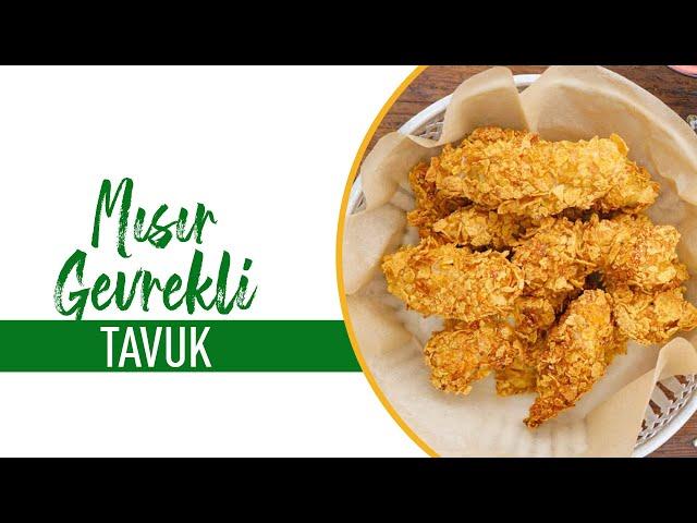 Mısır Gevrekli Tavuk Nasıl Yapılır? I Cornflakesli Tavuk Tarifi
