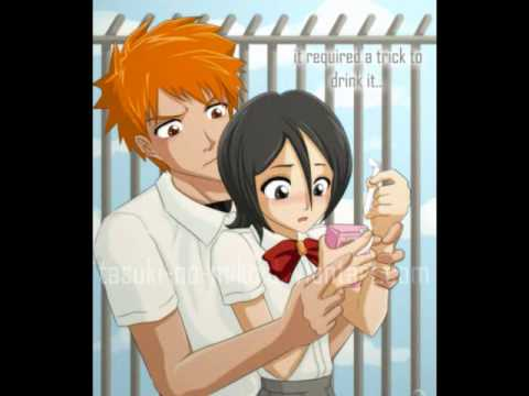 Bleach Ichigo And Rukia Kiss