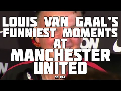 Louis Van Gaal's Funniest Moments At Manchester United!
