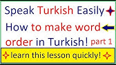 Learn turkish turkish in three minutes greetings youtube 1901 m4hsunfo
