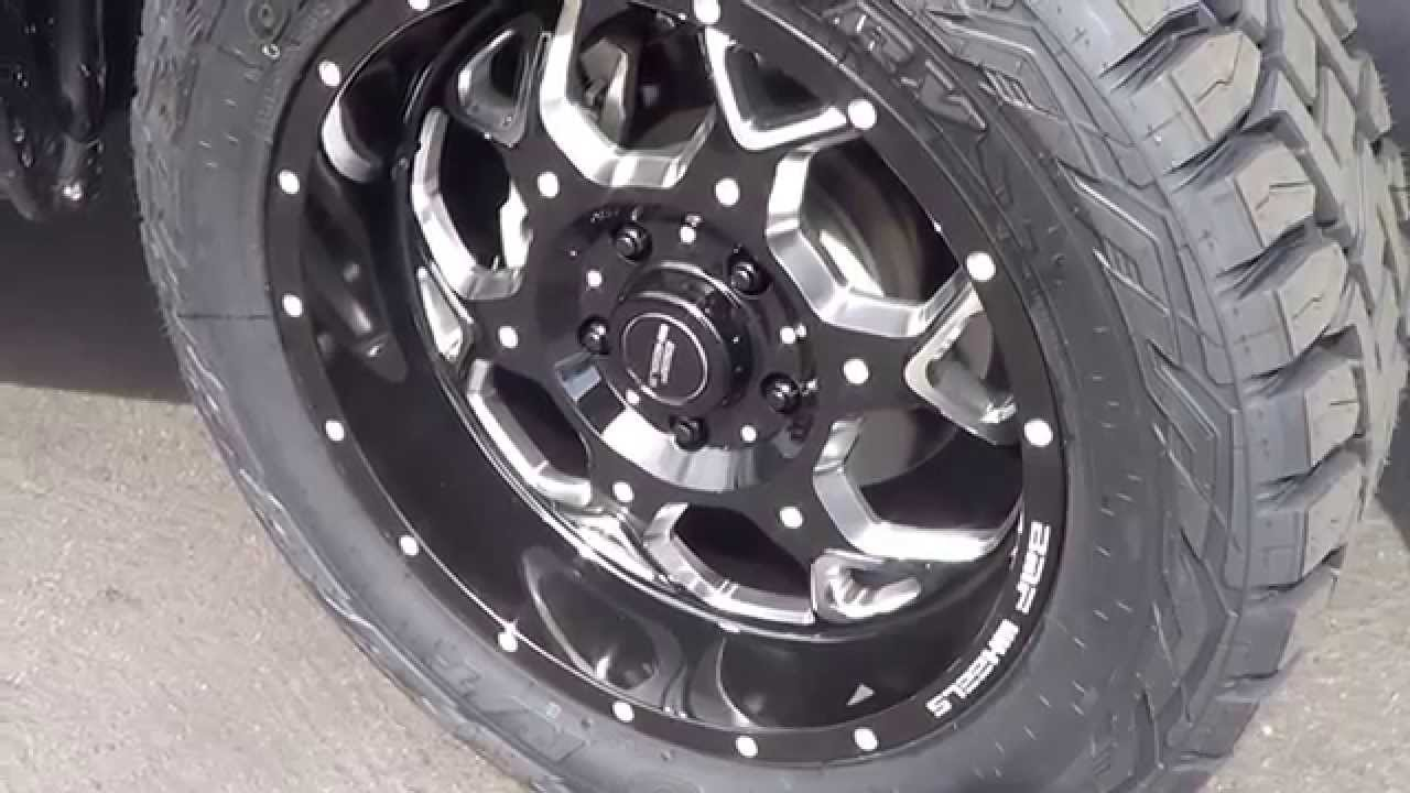 2015 Ram 1500 Leveling Kit >> Dodge Ram 1500 with BMF Soto Wheels on Toyo Open Country Tires - YouTube