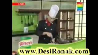 Chicken Raito and Vegetable Spaghetti by Chef Zakir - Part 3
