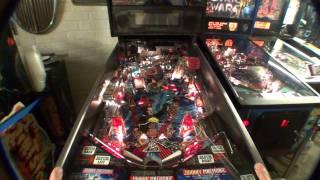 Johnny Mnemonic Pinball Machine I Am The Powerdown Master, apparently!!!