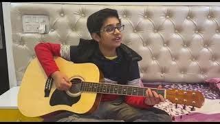 Tu Hi Meri Guitar Cover  By Aaditya   Sidhmayi Musical Academy