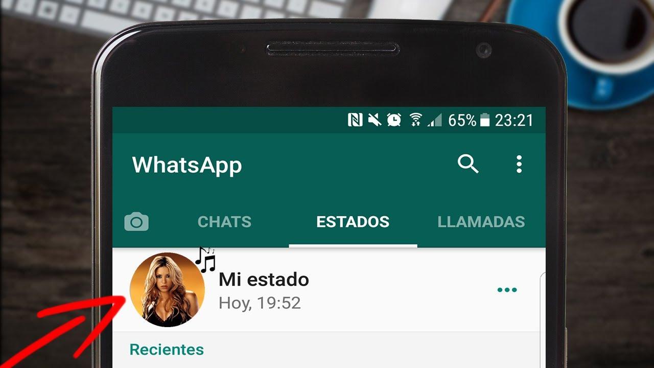 Como Poner Musica En Los Estados De WhatsApp