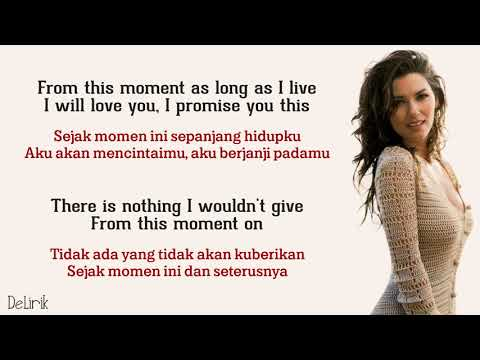 From This Moment On - Shania Twain [Diajeng Cover] - Lyrics Video Dan Terjemahan
