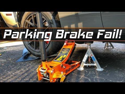 Dodge Challenger Parking Brake Adjustment - Emergency Brake