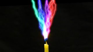 Amazing Scientific Experiments With Electricity Water and Fire! Poster