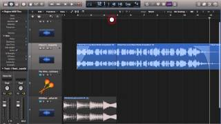 Logic Pro X Fades, Slow Downs, and Volume Automation