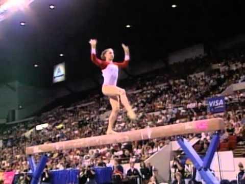 Courtney Kupets - Balance Beam - 2003 U.S. Gymnastics Championships - Women - Day 2