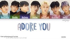 iKON (아이콘) – 좋아해요 (ADORE YOU) (Color Coded Lyrics Eng/Rom/Han/가사)