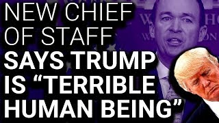 Trump Considered Son-in-Law for Chief of Staff, Picks Guy Who Insulted Him