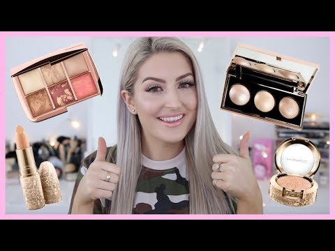 HOLIDAY COLLECTION MAKEUP HAUL | STILA | MAC | HOURGLASS | MARC JACOBS