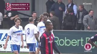 Highlights - Hampton & Richmond vs Chelmsford City