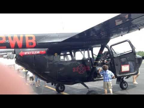 Cessna 02A sky master at nashua airfield