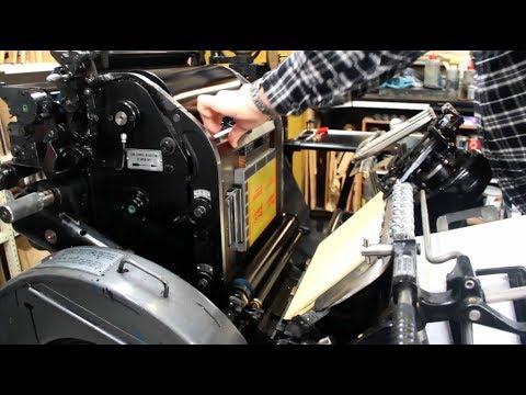 Letterpress Printing   PrintTogether