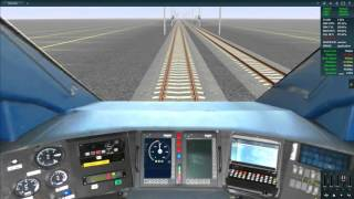 TANE Test ETCS TRAINZ Simulator N3V Game TGV Duplex