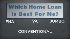 Which Home Loan is Best For Me Jeremy Lovett Arizona Mortgage Expert