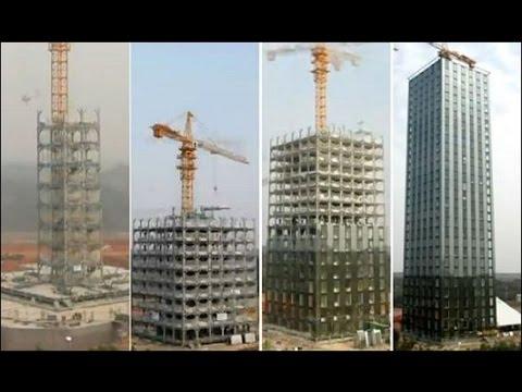 Un immeuble de 30 tages construit en 15 jours youtube - Assurer un immeuble en copropriete ...
