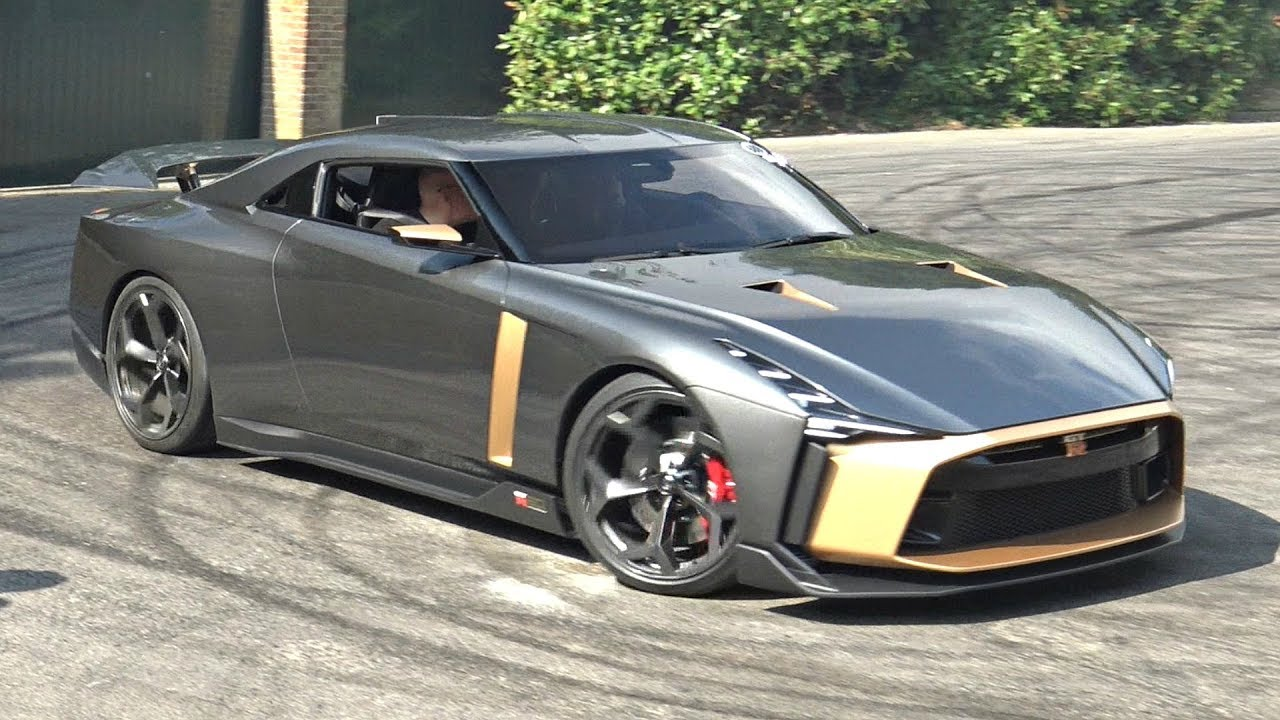 $1M Nissan GT-R50 by Italdesign in Action at its World ...