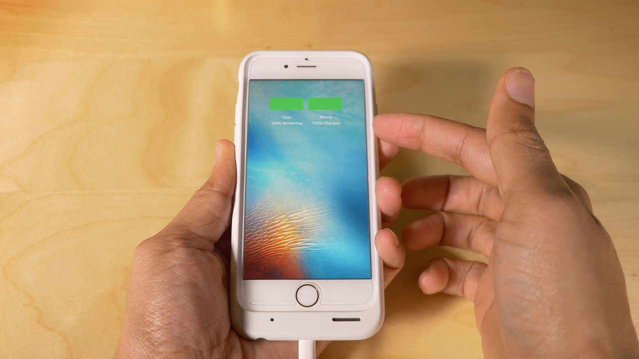 Чехол аккумулятор для iPhone X | Чехол зарядка для Айфон 10 - YouTube